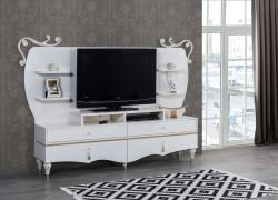 Gold TV Unit